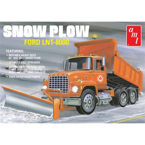 AMT 1:25 Ford LNT-8000 Snow Plow American Truck Plastic Kit