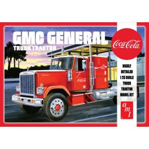 AMT 1:25 1976 GMC General Semi Tractor Coca-Cola American Truck Plastic Kit