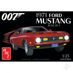 AMT James Bond 1971 Ford Mustang Mach I 2T Plastic Kit