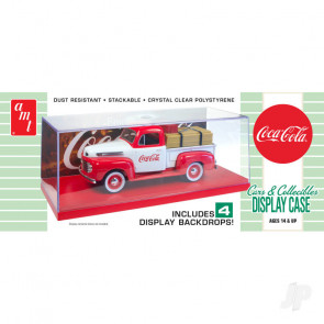 AMT Cars & Collectibles Display Case (Coca-Cola) For Plastic Kit