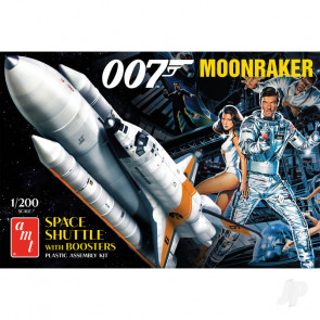 AMT Moonraker Shuttle w/Boosters - James Bond Plastic Kit