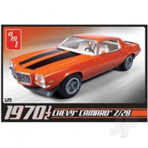 AMT 1:25 1970 1/2 Chevrolet Camaro Z28 Car Plastic Kit