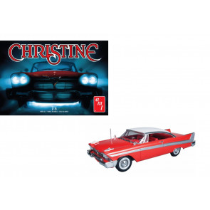 """Christine"" 1958 Plymouth Fury 1:25 Scale AMT Detailed Plastic Kit AMT801"