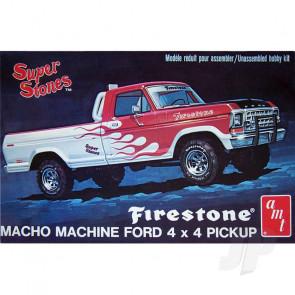 "AMT 1:25 1978 Ford Pickup ""Firestone Super Stones"" Truck Plastic Kit"