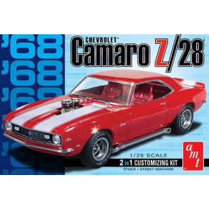 1968 Chevrolet Camaro Z/28 Saloon 1:25 Scale AMT Detailed Plastic Kit