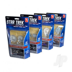 AMT 1:2500 Star Trek - Ships of the Line 1 of 4 SNAP Plastic Kits