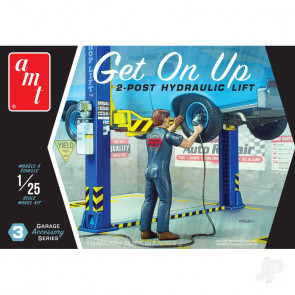 "AMT Garage Accessory Set #3 ""Get On Up"" For Plastic Kit"