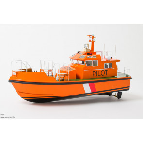 Aero-Naut Radio Control 20 Metre Pilot Boat 1:25 Scale Kit with Lights