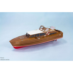 Victoria RC Luxury Motor Yacht, Classic 1960s Period Aero-Naut Wooden Kit