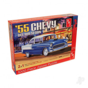 AMT 1955 Chevy Bel Air 1000 Piece Jigsaw Puzzle