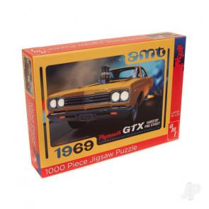 AMT 1969 Plymouth GTX Pro Street 1000 Piece Jigsaw Puzzle