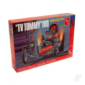 AMT TV TOMMY Ivo Dragster 1000 Piece Jigsaw Puzzle