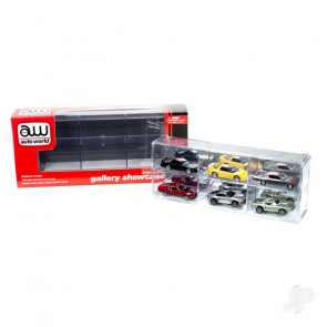 AMT Six Car Interlocking Display Case For Plastic Kit