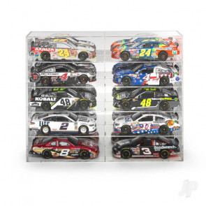 AMT Ten-Car Acrylic Display Case For Plastic Kit