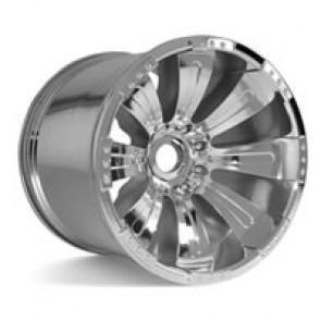 Axial Racing 8 Spoke Oversize Wheel - Chrome (2)