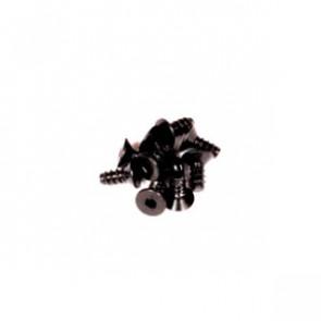 Axial M2.6 x 6mm Hex Socket Tapping Flat Head (Black)(10)