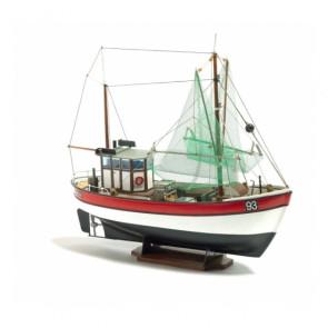 Rainbow Shrimp Cutter 1:60 Scale - Billing Boats Ship Kit B201