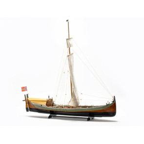 17th Century Norwegian Nordland Fishing Boat 1:20 Scale - Billing Boats Wooden Ship Kit