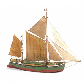 Will Everard Thames Sailing Barge - Billing Boats Wooden Ship Kit B601