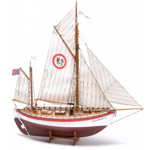 Colin Archer RS1 Sea Rescue Salvage Boat - Billing Boats Wooden Ship Kit B606