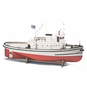 Hoga Pearl Harbour Tugboat - 620mm 1:50 Billing Boats Wooden Ship Kit