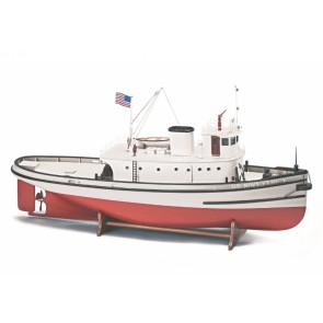 Hoga Pearl Harbour Tugboat - 620mm 1:50 Billing Boats Wooden Ship Kit