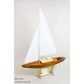 Bellissima Radio Control Sailing Yacht - Aero-Naut Mahogany Wooden Kit
