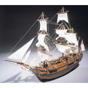 Mantua Sergal H.M.S. Bounty 1:60 Scale Wood Ship Kit