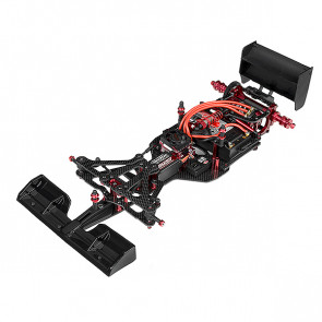 Corally Fsx10 Car Kit Chassis Kit Only No Elec /Body/Tires