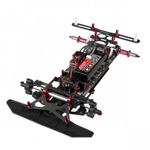 Corally Ssx8r Car Kit Chassis Kit Only, No Elec /Body/Tires