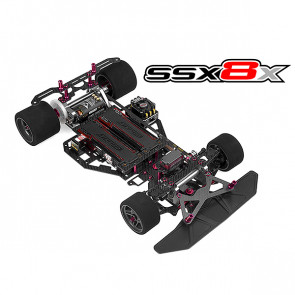 Corally Ssx8x Car Kit Chassis Kit Only, No Elec /Body/Tires