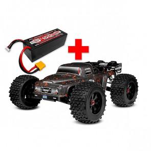 Corally Dementor XP 6S Monster Truck 1/8 SWB Brushless RTR + FREE 4S Battery