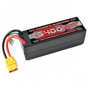 Corally Sport Racing 50C LIPO Battery 5400mAH 14.8V 4S XT90