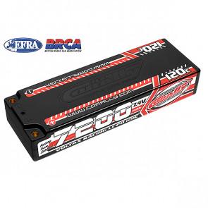 Team Corally Voltax 120C 7200mAh 7.4V 2S Hard Case Stick LiPo RC Car Battery