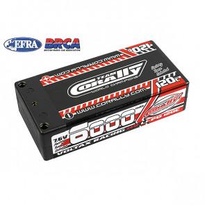 Team Corally Voltax HV 6000mAh 7.6V 2S 120C 4mm Bullit LiPo Battery for RC Car