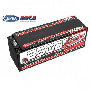 Corally Voltax 6500mAh 15.2v 120C 4S HV Hard Case RC Car LiPo Battery w/5mm Connectors