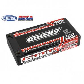 Corally Voltax 120c Lipo Hv Ba Ttery 8000 Mah 3.8v 1S Hardcas