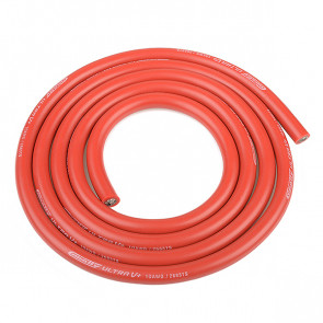 Corally Ultra V+ Silicone Wire Super Flexible Red 10awg 2683