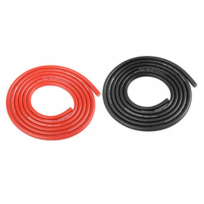 Corally Ultra V+ Silicone Wire Super Flexible Black And Red