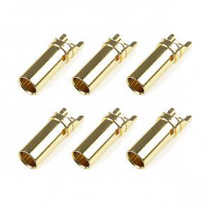 Corally Bullit Connector 3.5mm Female Gold Plated Ultra Low