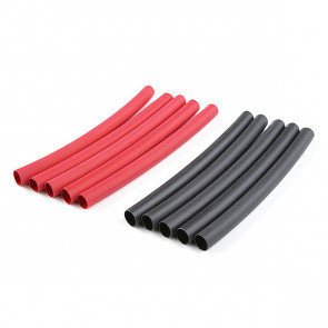 Corally Shrink Tubing 4.7mm Red + Black 10 Pcs
