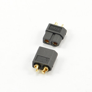 CENTRO XT-60 BLACK CONNECTOR (MALE/FEMALE)