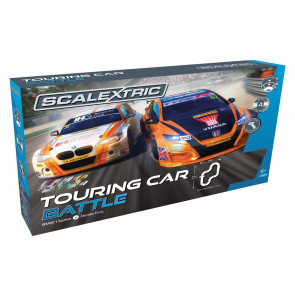 Scalextric BTCC BMW & Honda Touring Car Battle Slot Racing Set