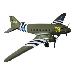 Dynam C47 Dakota Twin USAF V2 Military Transport 1470MM no Tx/Rx/Bat