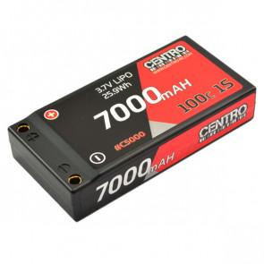 CENTRO 7000MAH 1S 3.7V 100C HARDCASE LIPO BATTERY