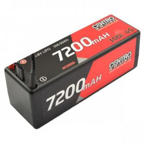CENTRO 7200MAH 4S 14.8V 100C HARDCASE LIPO BATTERY