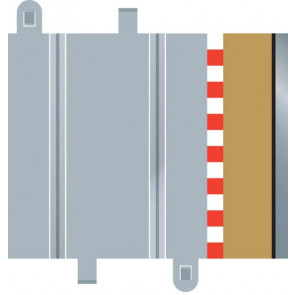 Scalextric C8223 Half Straight Borders (x4) 1:32 Extra Borders for Slot Cars