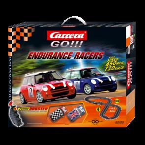 Carrera Go Endurance Racers BMW Mini Cooper Slot Car Racing Set CA62100