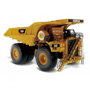 1:50 Cat 795F AC Mining Truck, Diecast Scale Construction Vehicle
