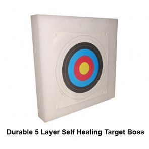 Top Quality 5 Layer Self Healing Foam Archery Target Boss 60x60cm Durable & Lightweight